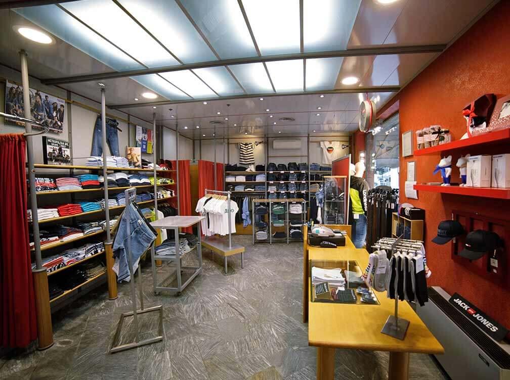 newport negozio interno